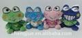 毛绒青蛙填充玩具