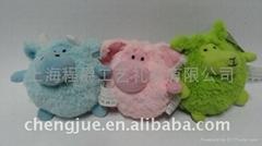 毛绒小绵羊玩具