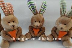 爱吃萝卜的小兔子