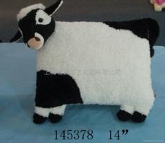 上海毛絨動物造型靠枕