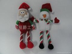 上海毛絨填充聖誕玩具