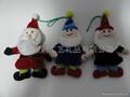 上海毛绒填充圣诞玩具 4