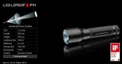 德國LED LENSR 戶外強光調焦手電筒