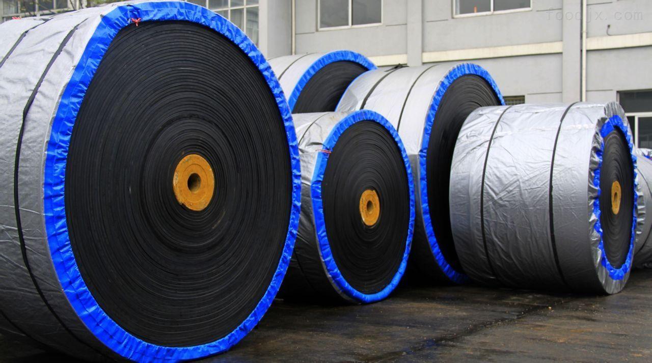 Abrasion resistant conveyor belt 1