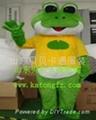 卡通服装青蛙人偶