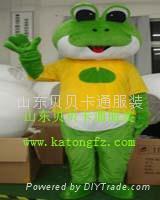 卡通服裝青蛙人偶
