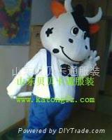 卡通人偶服装牛 3