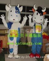卡通人偶服装牛 4