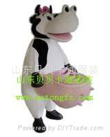 卡通人偶服装牛 5