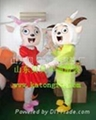 卡通人偶服装喜羊羊