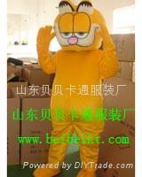 卡通服装毛绒人偶加菲猫 3