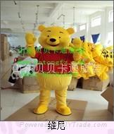 卡通人偶表演服饰维尼熊