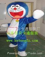 卡通人偶服装机器猫 1