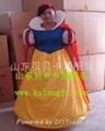 山东卡通服装白雪公主 1
