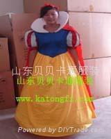 山東卡通服裝白雪公主
