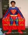 卡通服装超人