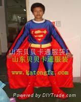 卡通服裝超人