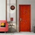 佛山廠家直銷實木橡木門房間油漆室內家裝原木門 2