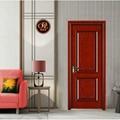 佛山廠家直銷實木橡木門房間油漆室內家裝原木門 3