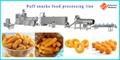 Delicious Corn Cheese Puff Snacks Food Making machine 3