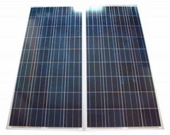 12V/130W poly solar panels