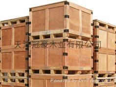 供应天津熏蒸包装箱