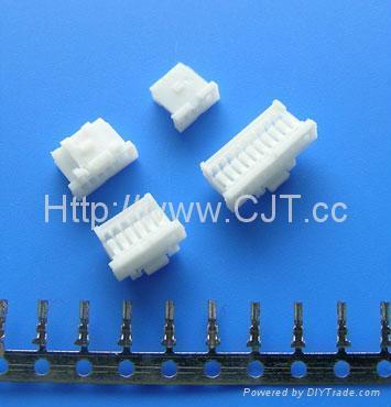 1.0mm线对板电池汽车连接器 长江连接器A1008(501330) 1