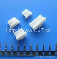 1.0mm线对板电池汽车连接器 长江连接器A1008(501330)