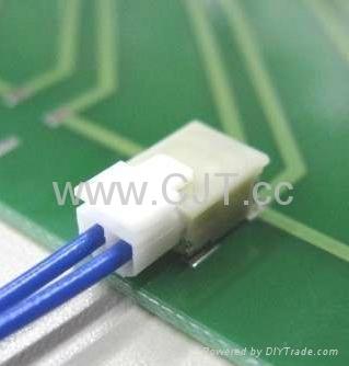 连接器1.8mm直针弯针针座 镀锡镀金压接端子A1801(SFH)  1