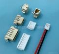 连接器厂家直销 1.5mm反向穿板式SMT连接器 线对板智能连接器