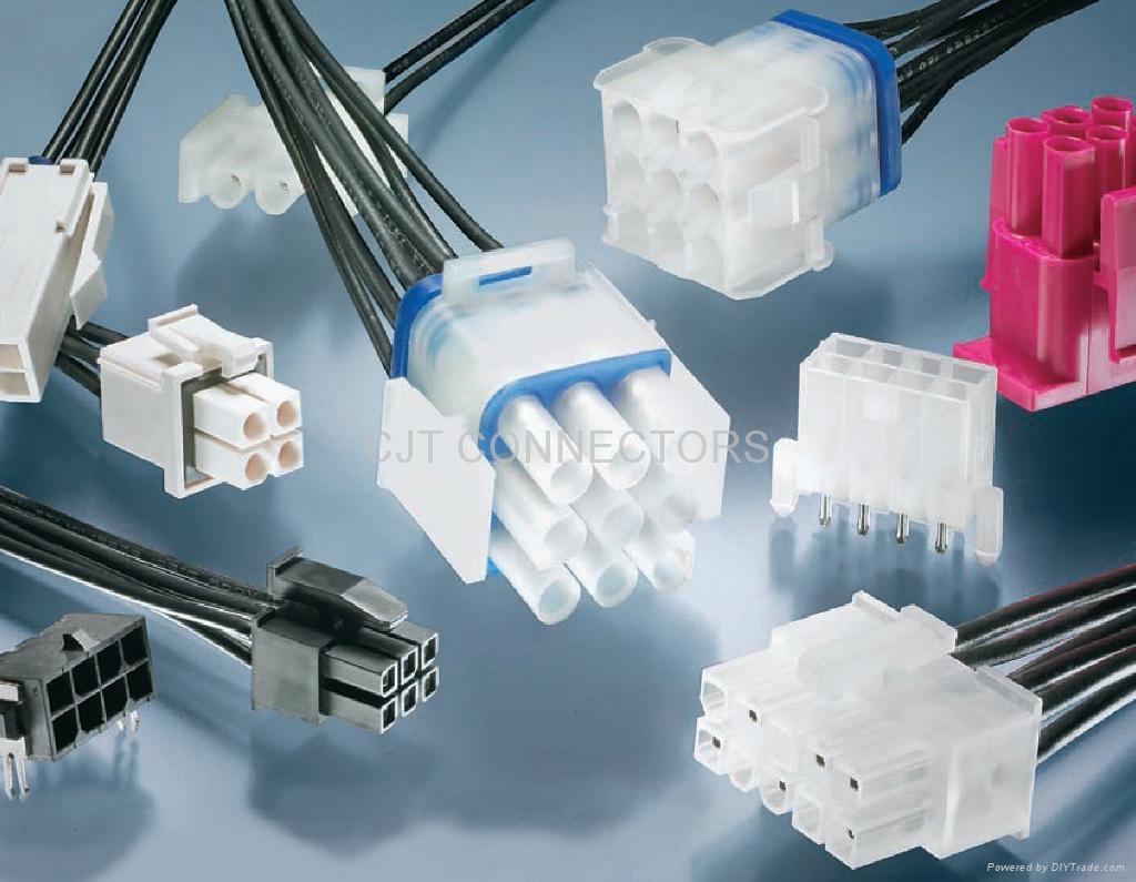 3.0mm线对线连接器贴片带定位柱线对板连接器 长江连接器 1