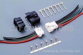 3.0mm线对线连接器贴片带定位柱线对板连接器 长江连接器 4