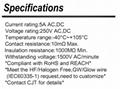 3.96mm间距线对板连接器 长江连接器C1581(1625) 同等品连接器 2