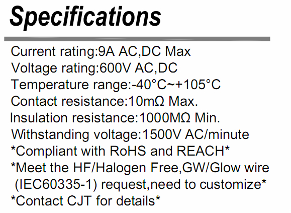 厂家直销4.2mm家用电器C4201连接器线对板 线对线连接器 长江连接器 4