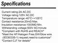 2.0mm厂家加工线束C2003 (51005/51006)同等品连接器线对板 长江连接器 3