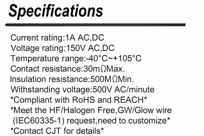A1252 (DF13)同等品线对板连接器  DF13-2S-1.25C 3