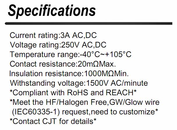 线对板电子连接器A2510 2.5mm(FUTABA/JP,JR)连接器同等品 FCH25-03MB 长江连接器 2