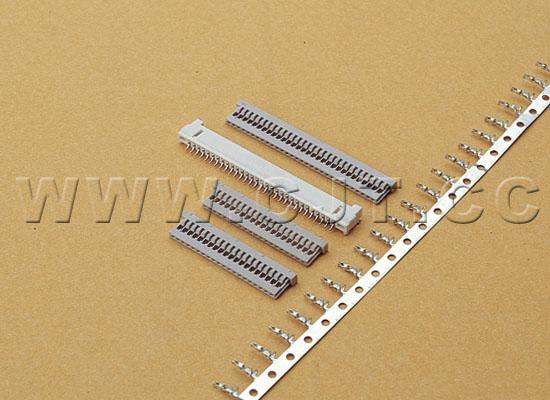 1.25mm(DF14) 广濑连接器同等品 12507HS05L 12507HS06L 长江连接器A1255  1