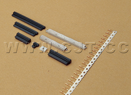 线对板连接器A1256 1.25mm(FI-S)同等品连接器 FI-W31S FI-W41S 长江连接器 2