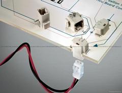 连接器 LED连接器,筒灯连接器,反向穿板式SMT连接器