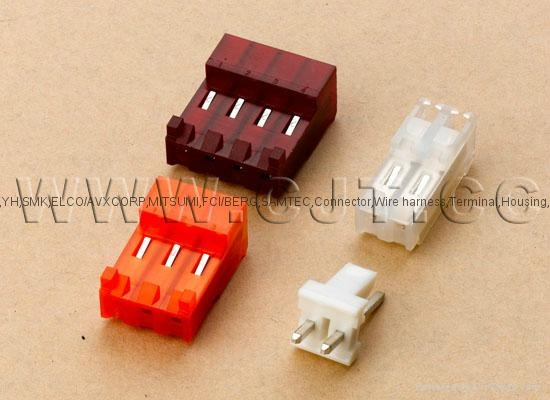 TE connectors 640426-3,640472 Orange 3.96mm Pitch