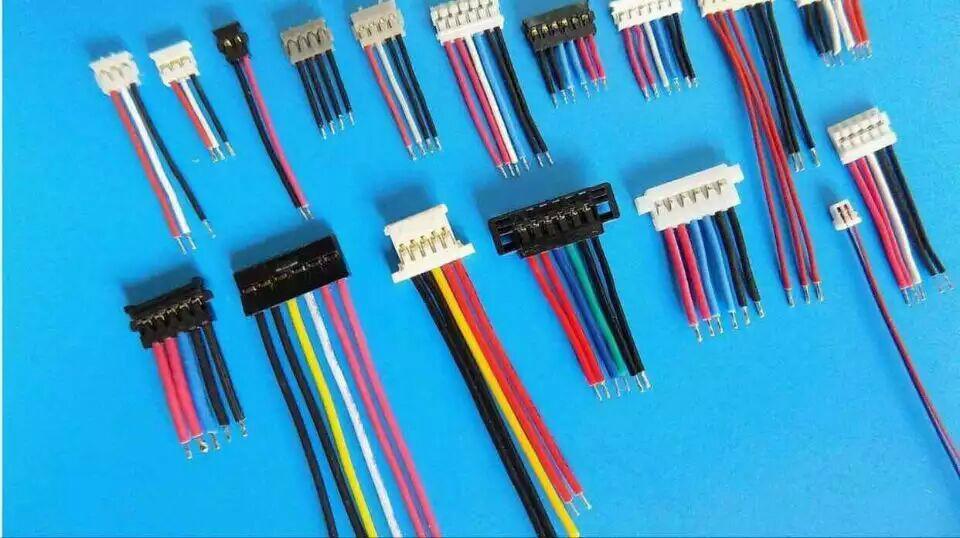 长江连接器 电子线束,端子线插座 连接器 接线端子 塑壳 2