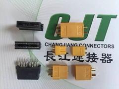 长江连接器C6201 6.2mm线对板冰箱连接器电子连接器