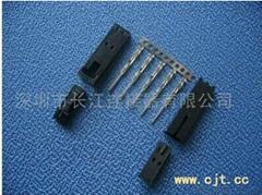 长江连接器MX2.54公母70066/70107电子家电线对板连接器