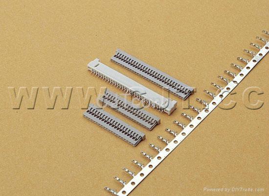 连接器 1.25mmCJT尼龙电子元器件立式卧贴连接器 同等DF14A1255  1