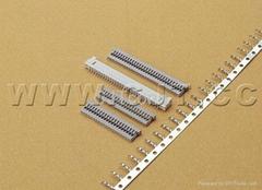 连接器 1.25mmCJT尼龙电子元器件立式卧贴连接器 同等DF14A1255