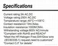 连接器2.0mm PHDA2006  CJT针座-立贴卧贴 FPC压接式家用连接器接插件 3