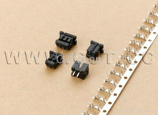 连接器 2.0mm等效Hirose A2011 CJT DF3 2.0公母对接插件端子胶壳 2