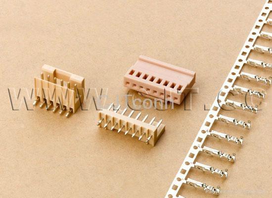 连接器 线对板电子 2.50mm连接器供应JAM JS 同等品CJT A2506  1