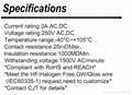 连接器 2.50mm线对板 CJT A2507 电子家电连接器供应JAE IL-G  3